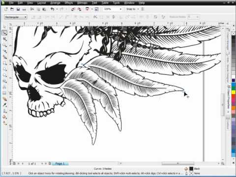 MMA Designs for Screen Printers with CorelDRAW Brushes - How to