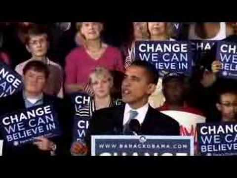Obama NC primary victory speech