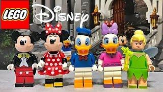getlinkyoutube.com-레고 미키 마우스, 미니 마우스, 도널드 덕, 데이지 덕, 팅커벨 디즈니 캐슬 71040 미니피규어 리뷰 LEGO The Disney Castle minifigures