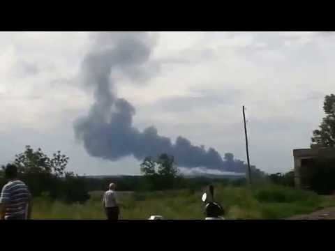 BREAKING Malaysian Airlines Boeing777 Shot Down Donetsk oblast Ukraine,July17