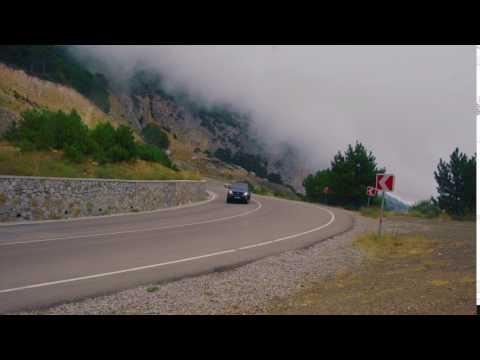 GX 470 крутой поворот - дорога на Ялту
