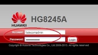 getlinkyoutube.com-Cara merubah nama & password WiFi modem optik HUAWEI type HG8245A Versi Bahasa Indonesia