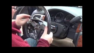 getlinkyoutube.com-DIY Replacing airbag and steering wheel on Chevy Suburban