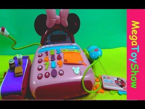 Minnie Mouse Bow-tique Electronic cash register Disney junior
