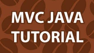 MVC Java Tutorial