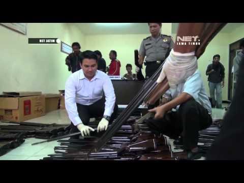 Razia Senapan Angin Rakitan di Malang NET JATIM