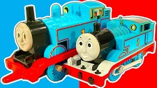 getlinkyoutube.com-Thomas The Tank Collection 12 Huge Box Of Classic Thomas And Friends Toys