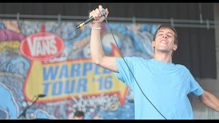 Knuckle Puck - No Good - Live HD 2016 Warped Tour Camden, NJ. 7/6/16
