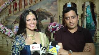 Hot Sunny Leone Seduces In A Royal Look | On Location