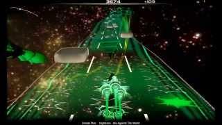 getlinkyoutube.com-Audiosurf : Nightcore - Me Against The World [ Simple Plan ]