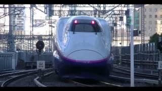 平日朝の東北・上越・北陸新幹線東京駅