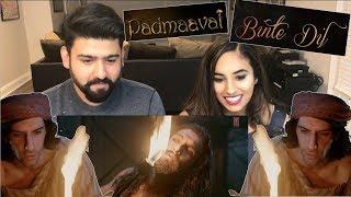 Binte Dil Song Reaction | Padmaavat | Ranveer Singh, Jim Sarbh | RajDeepLive