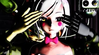 getlinkyoutube.com-【MMD x FNAF】The Monster (Mangle x Foxy/Springtrap)