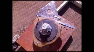 getlinkyoutube.com-Вертикальный ветрогенератор - история сборки