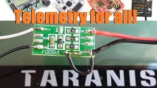 FBVS-01, D4R-II, and the Taranis - Setting up Telemetry