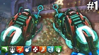 getlinkyoutube.com-DUAL WIELD XMAS RAY GUN MK 2! - CALL OF DUTY ZOMBIES CUSTOM MOD GAMEPLAY #1!