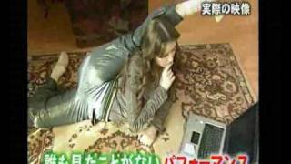 getlinkyoutube.com-Irina Kazakova - Tv Show in Tokio