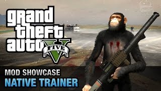 getlinkyoutube.com-GTA 5 PC - Native Trainer [Mod Showcase]
