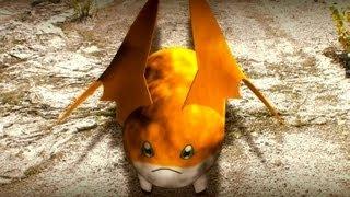 getlinkyoutube.com-Digimon REAL LIFE: Patamon / Angemon VS Devimon - Light VS Darkness