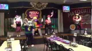 Chuck E. Cheese's Head Shoulders Knees and Toes Show - Wichita Falls, TX