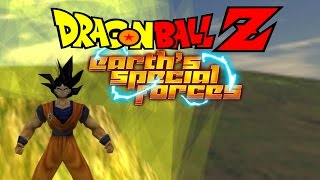getlinkyoutube.com-Dragon Ball Z: Earth's Special Forces - SSJ Goku vs. Cell, Trunks, and Gohan!