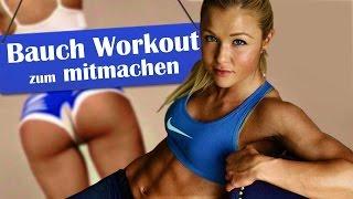 getlinkyoutube.com-♥ Bauch - Homeworkout zum Mitmachen! ♥ Training mit Sophia Thiel