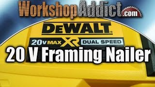 getlinkyoutube.com-DeWALT 20 Volt Max Dual Speed Framing Nailer - DCN692M1