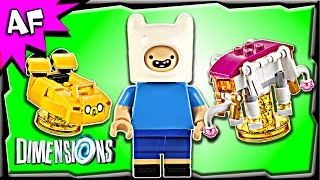 getlinkyoutube.com-Lego Dimensions Adventure Time FINN the Human 3 in 1 Level Pack 71245 Stop Motion Build Review