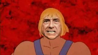 getlinkyoutube.com-Berlusconi He-man, il nuovo eroe.