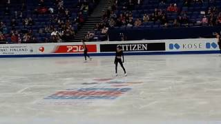 Ashley Wagner SP Run-Through 28.03.17 Worlds 2017