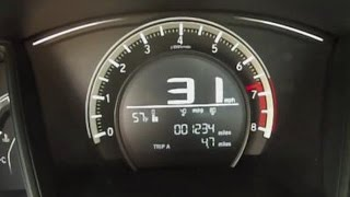 getlinkyoutube.com-2016 Honda Civic 0-60 MPH Test Video – 6 Speed Manual 2.0 Liter 4-Cylinder