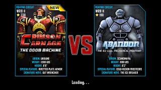 getlinkyoutube.com-Real Steel WRB Championship Crimson Carnage VS Abandon NEW ROBOT UPDATE