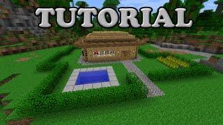 getlinkyoutube.com-Minecraft Tutorial - Nice and easy house