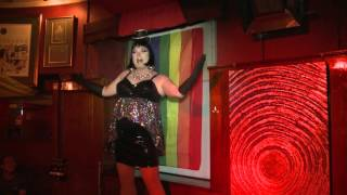 RED HOT RETRO Cabaret Show Snippet...Connie Cartier perfoming Knock on Wood