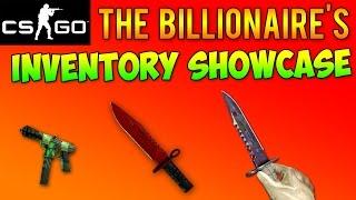 getlinkyoutube.com-CS GO - The Billionaire's Inventory Showcase! ($140,000+ In Rarest Skins)