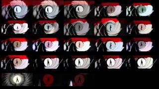 getlinkyoutube.com-Every 007 Gun Barrel Sequence At The Same Time