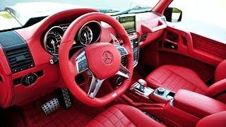 getlinkyoutube.com-BRABUS 6x6 700 INTERIOR OPTIONS Mercedes G 63 6x6 AMG 2015 BRABUS B63S Video CARJAM AMG 6x6 Top Gear