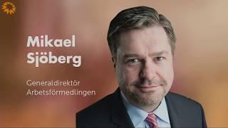 MPL 2017 - Mikael Sjöberg, Generaldirektör Arbetsförmedlingen