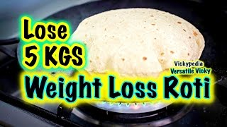 getlinkyoutube.com-Super Weight Loss Roti in Hindi / Indian Meal Plan / Lose 5KG in a Month