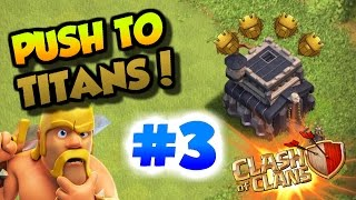 getlinkyoutube.com-Clash Of Clans| -29 TROPHIES ON A 2 STAR??? | WTF SUPERCELL | TH9 PUSH TO TITANS LEAGUE #3 |