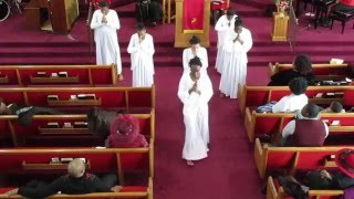 """getlinkyoutube.com-""""Now Behold the Lamb"""" Praise Dance by Anointed Dancers of EBC"""