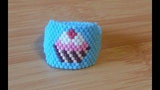 DIY Técnica peyote para anillo y brazaletes / Technical peyote to ring and bracelets
