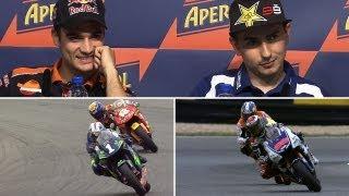 getlinkyoutube.com-MotoGP™ - Lorenzo vs Pedrosa