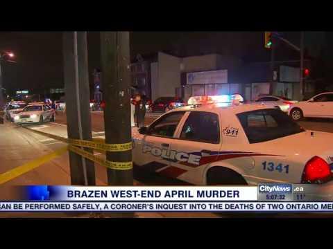 Police release surveillance video of shooting of Hamilton man