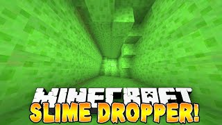 getlinkyoutube.com-Minecraft - SLIME DROPPER! (Epic Drops & Jumps) w/Preston, Vikkstar, Woofless, Pete & Lachlan!