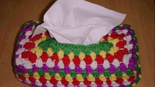 Crochet Tissue Cover Part-1