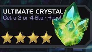 getlinkyoutube.com-MARVEL: Contest of Champions ULTIMATE CRYSTAL 4 STAR Fighter Hunting (iOS/Android) Gameplay