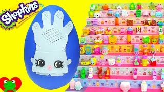 getlinkyoutube.com-Shopkins Season 2 Rub a Glove Play Doh Surprise Egg Limited Edition Hunt Toy Genie