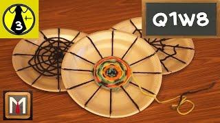 getlinkyoutube.com-How to Make a Circle Weaving - part 1