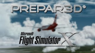 getlinkyoutube.com-Performance | Prepar3D 2.5 vs Flight Simulator X